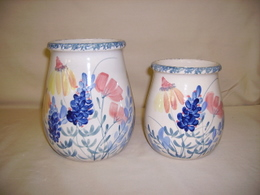 Spoon Jars Large & Medium - WILDFLOWER